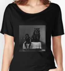 6lack Women's Relaxed Fit T-Shirt