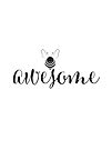 Bee Awesome. by jitterfly
