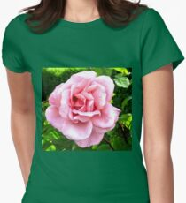 Blushing Pink  Women's Fitted T-Shirt