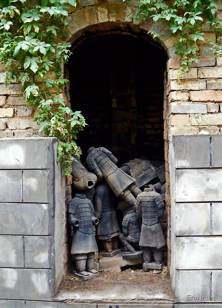 Terracotta Graveyard by Erin Irwin