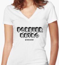 Forever Retro 1986-2017 Women's Fitted V-Neck T-Shirt
