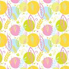 Spring Pattern by prouddaydreamer