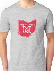 Miami - Oxford - Love and Honor Unisex T-Shirt