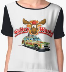 WALLEY WORLD - NATIONAL LAMPOONS VACATION (2) Women's Chiffon Top