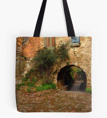Stonework Tote Bag
