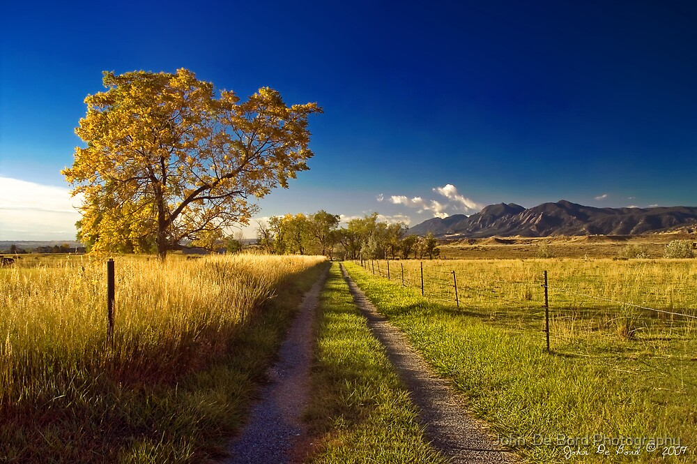 The Road To Home by John  De Bord Photography