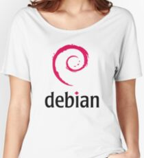 Debian Women's Relaxed Fit T-Shirt