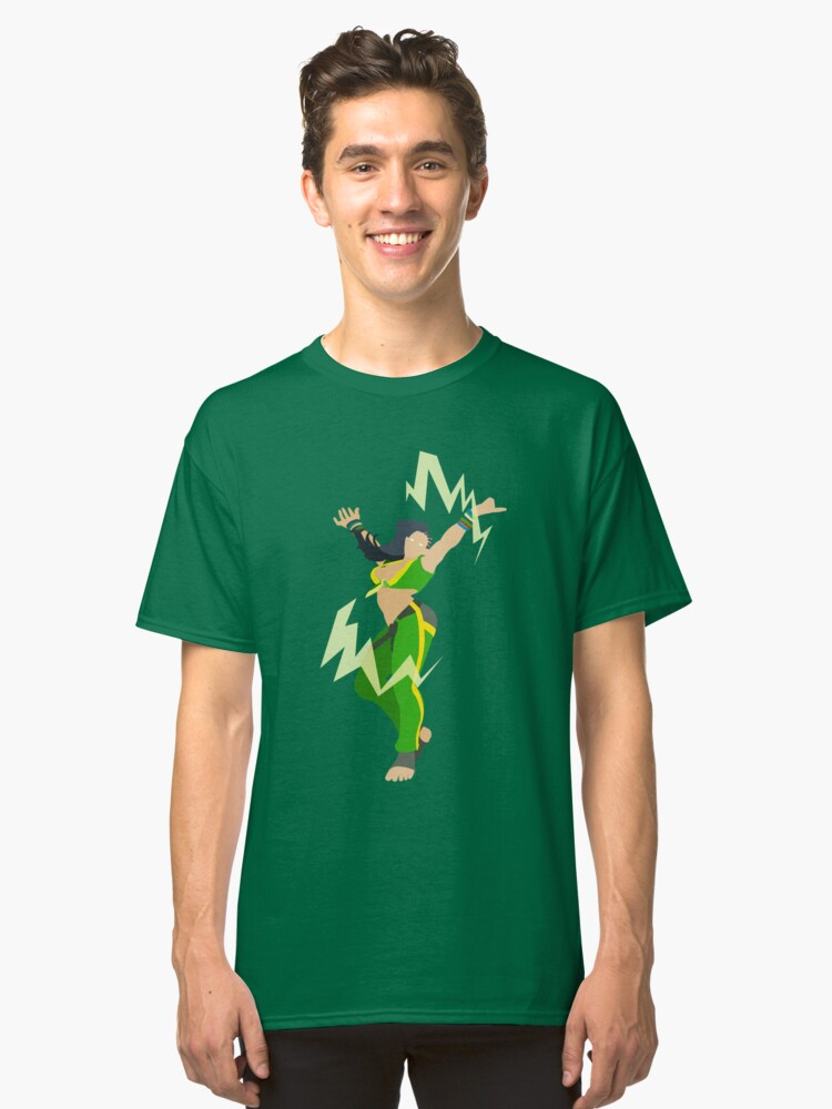 Street Fighter V- Laura | Classic T-Shirt