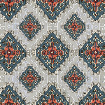 kilim mix pattern with texture by sriknick