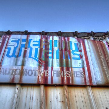 Old Sherwin Williams Sign by Sanguine