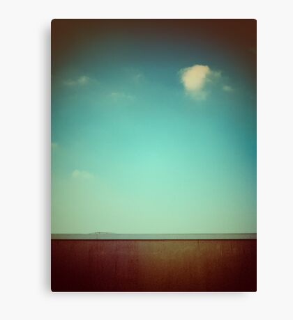 Emptiness with wall Canvas Print