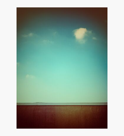 Emptiness with wall Photographic Print