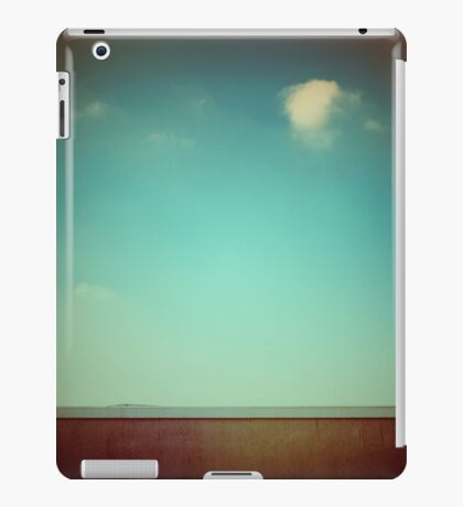 Emptiness with wall iPad Case/Skin