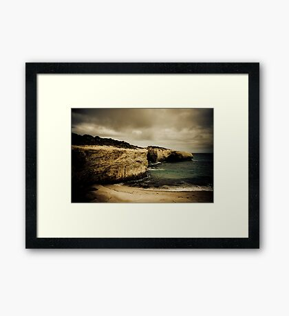 London Bridge, Great Ocean Road, Victoria Framed Print