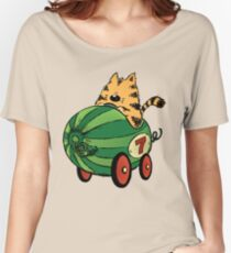 Albert and his watermelon ride Women's Relaxed Fit T-Shirt