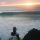Surfer awaits... by Luke Jones