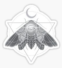 Occult Moth Sticker