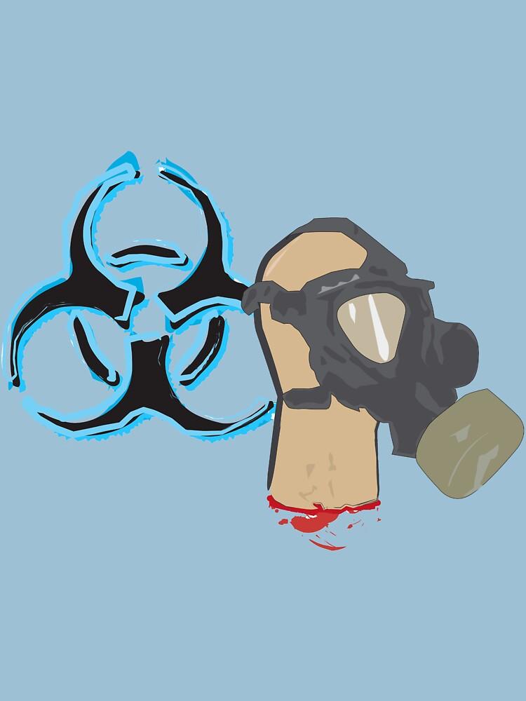 gas mask by timgbutt