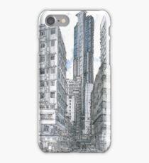 Hong Kong. Wan Chai Burrows Street iPhone Case/Skin