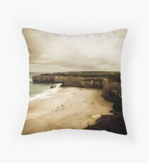 The Shipwreck Coast, Great Ocean Road, Victoria Throw Pillow
