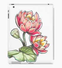 Lotus Blossoms iPad Case/Skin