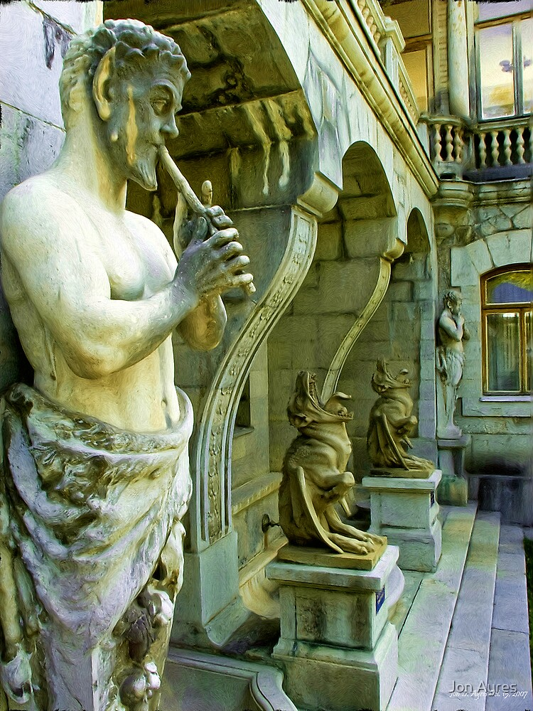 Pan and his Friends at Massandra Palace1 by Jon Ayres