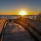 Jacksonville Beach Sunrise by Chloe Garfield