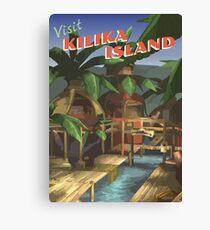 Kilika Island [FFX] - Weinlese-Reise-Plakat Leinwanddruck