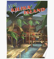 Kilika Island [FFX] - Vintage Travel Poster Poster