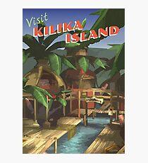 Kilika Island [FFX] - Vintage Travel Poster Photographic Print