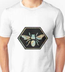 Honey Bee Hexagon Unisex T-Shirt