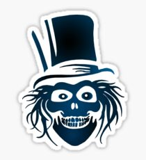 Hatbox Ghost - The Haunted Mansion Sticker