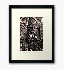 H.R. Giger Big Ben Framed Print