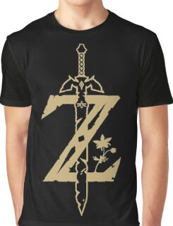 Breath of the Wild - Z logo Graphic T-Shirt