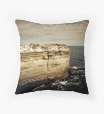 The Razor Back, Great Ocean Road, Victoria Throw Pillow