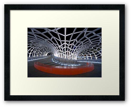 Webb Bridge, Melbourne by AustralianImagery