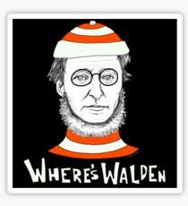 Where's Walden Sticker