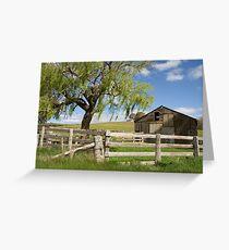 Derelict Barn Greeting Card