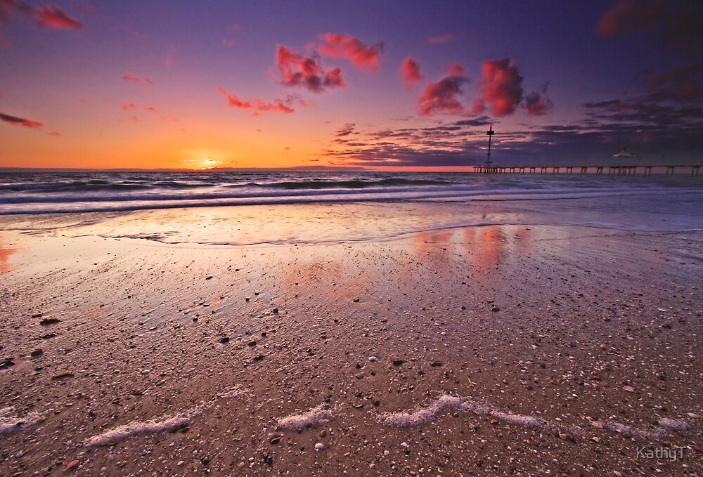 Sunset Pebbles by KathyT