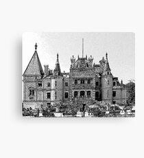 Massandra Palace6 Canvas Print