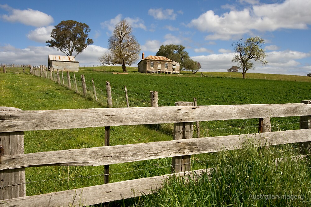 Abandoned Farmhouse by AustralianImagery