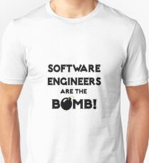 Software Engineers Are The Bomb! T-Shirt