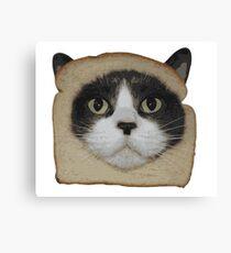 Breaded Inbread Cat Breading Canvas Print