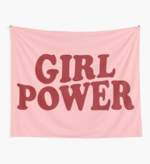 GIRL POWER Wall Tapestry