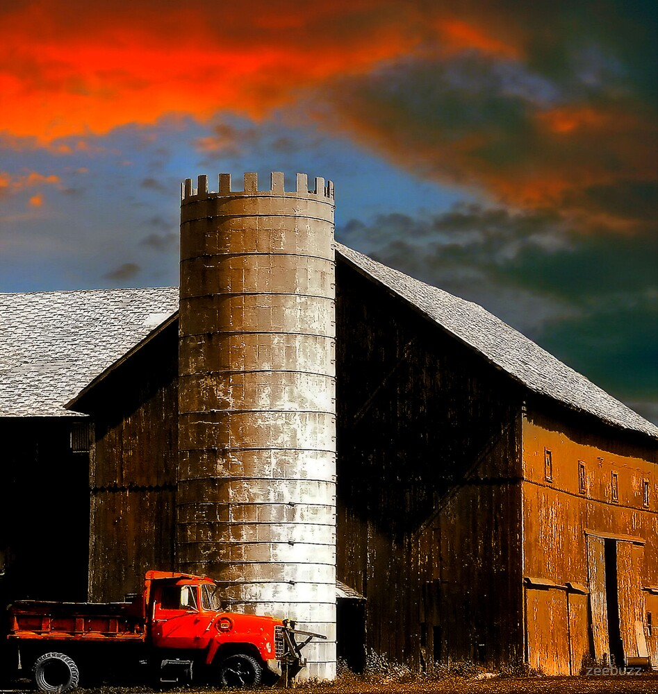 So Much Depends Upon The Red Truck by zeebuzz
