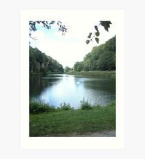 Crag Water 2 Art Print