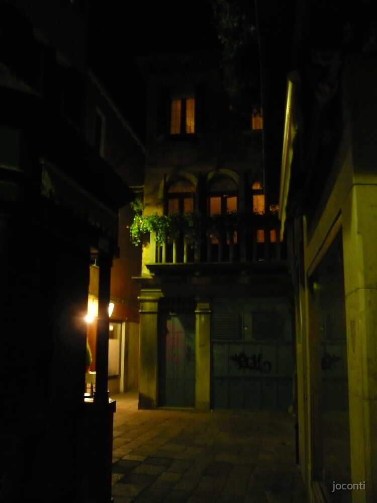 Dark Alleyway by joconti