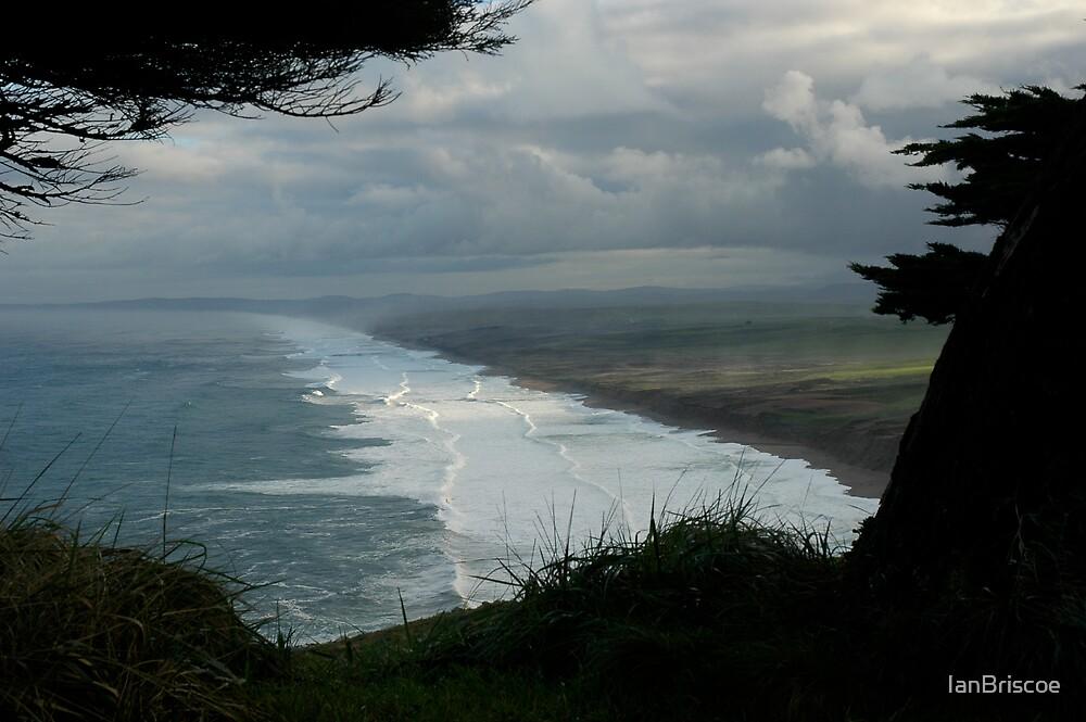 Coastline at Dawn by IanBriscoe