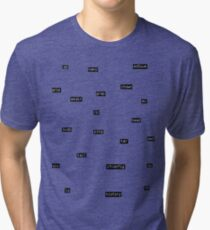 LinuxCommandsv1.0 Tri-blend T-Shirt