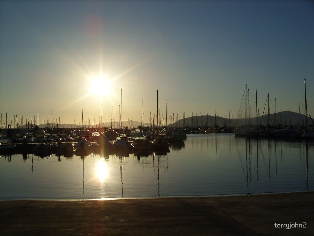 alghero harbour by terryjohn2